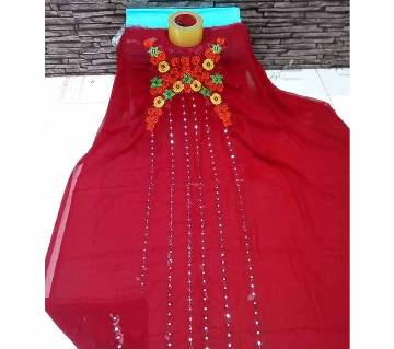 Unstitched Georgette One Piece for Women