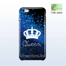 Queen Customized Mobile Back Cover