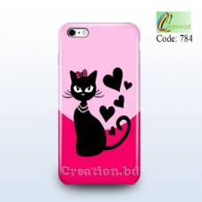 Lovely Cat Customized Mobile Back Cover