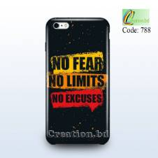 NO FEAR Customized Mobile Back Cover