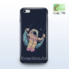 Moon Walker Customized Mobile Back Cover