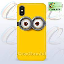 Minion Customized Mobile Back Cover