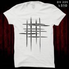 gents round neck half sleeve printed T shirt