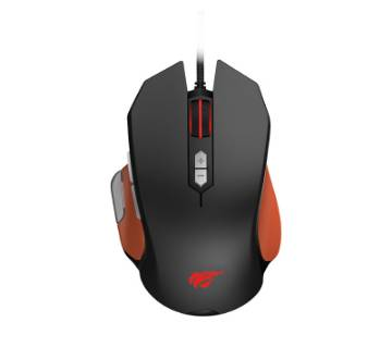 HAVIT HV-MS762 USB PROGRAMMABLE 9-KEY GAMING MOUSE