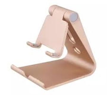 Universal Aluminum Metal Mobile Phone Tablet Holder Desk Stand