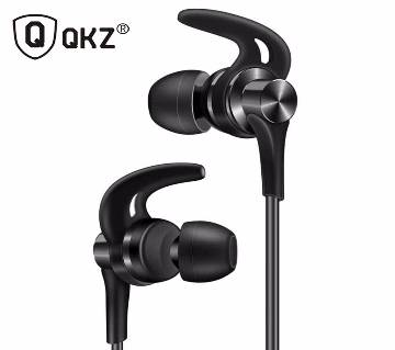 QKZ DT1 in-Ear Bass Headphones with Mic (Black)