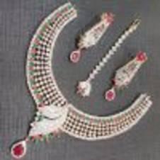 Diamond Cut Necklace Set