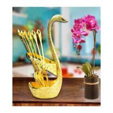 Swan Spoon Set