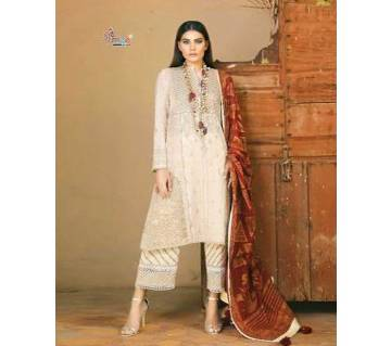 Sana Safinaz Exclusive Collection Unstitched Cotton 3Pcs- 5128