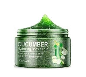 Bioaqua Cucumber Hydrating Body Scrub-120gm-Korea