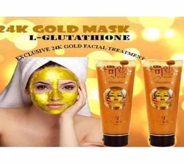 L-Glutathione 24k Gold Face Mask - Korea