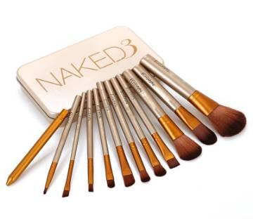 Naked3 Brush Set (12pieces)