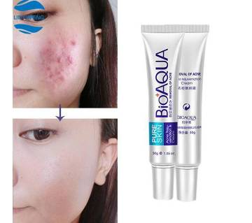 BIOAQUA Pure Skin Acne Cream-30gm-Korea