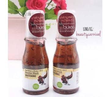 Red Wine Booster Whitening Mask - Thailand