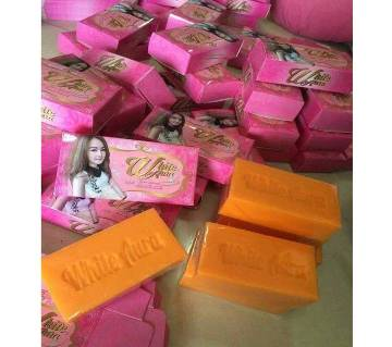 White Aura Miracle Carrot Soap - Thailand