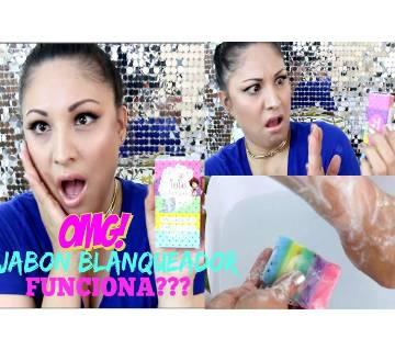 Omo white plus soap mix color - Thailand