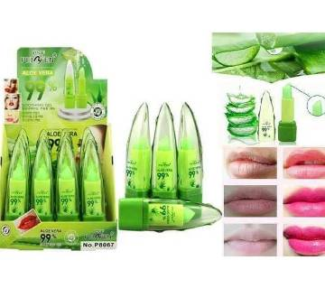 99% Aloe Vera Lip Balm - China