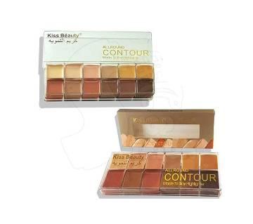 Kiss Beauty Contour+Concealer Palette - UK