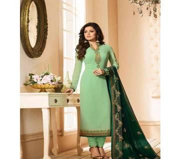 Indian Designer Embroidery Dress -  F 19