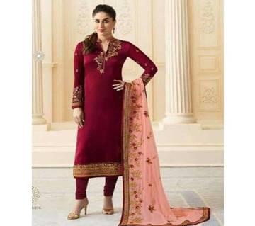 Unstitch Indian Designer Embroidery Dress -  F 22
