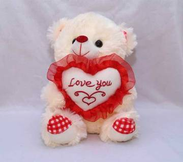 Valentine Teddy Bear with Love