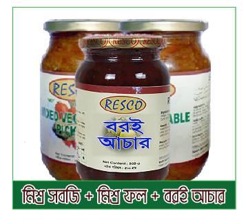RESCO বান্ডেল আচার - ৩ টির প্যাক