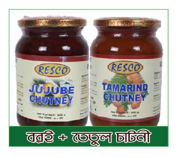 RESCO Jujube & Tamarind Pickles 500g+500g