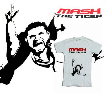 MASH The Tiger জেন্টস হাফ স্লিভ কটন টি-শার্ট