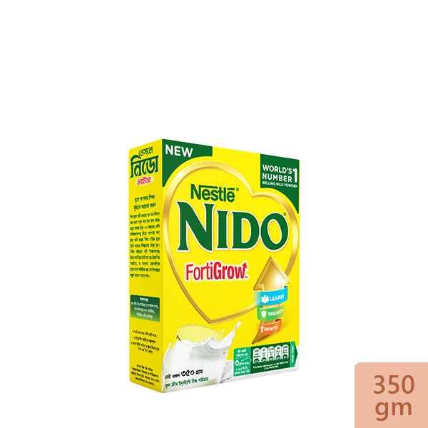 Nestlé NIDO Fortigrow Full Cream Milk Powder BIB 350 gm