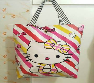 Hello Cat Long Hand Bag