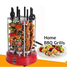 Stainless Steel Automatic Electric BBQ Grill