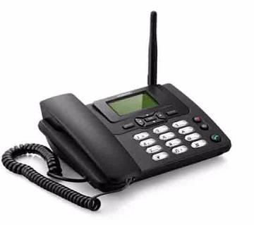 GSM ল্যান্ডফোন - SIM সাপোর্টেড উইথ FM রেডিও