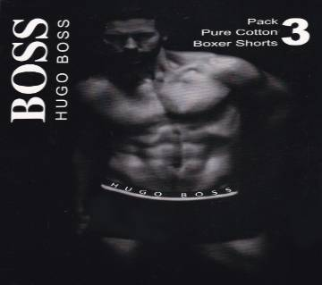 Hugo Boss বক্সার (৩ পিস প্যাক)