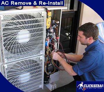 AC Remove & Re-Installation