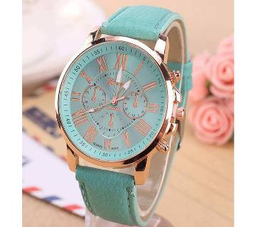 Teal Analogue Wrist Watch for Women