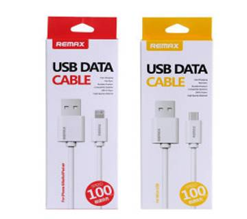 REMAX Combo Of Micro USB & Lightening Fast Charging Cable