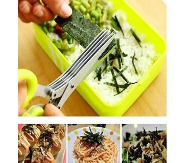 5 blades Vegetable Cutter kitchen scissors