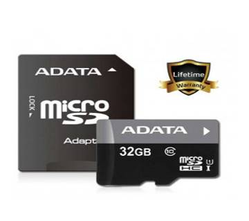 ADATA 32GB Class 10 Micro SD Memory CARD