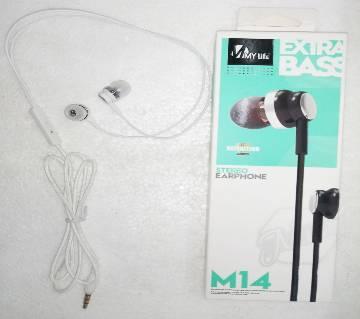 In-ear Headphones M14 for all Phones