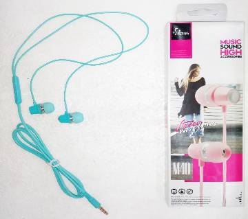 In-Ear Headphones M40 for all Phones
