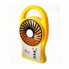 SUPERMOON portable mini fan with LED light