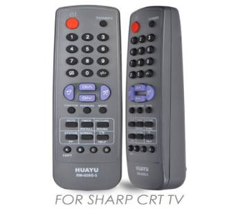 sharp tv remote control system