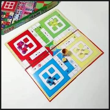 Mini Ludo snake and Chess Board 3 in 1 Board Game