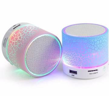 A9 Mini Wireless Bluetooth Speaker - White & Blue