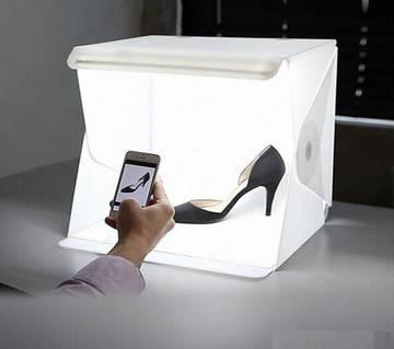 Mini Photography Studio Folding Lightbox LED Light Soft Box Camera Photo Background Box Lighting Tent Kit