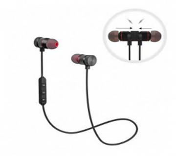 Magnetic Metal Sports Bluetooth Headphone