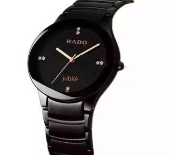 Rado Stainless Steel Analog Watch for Men - Black