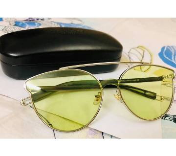 Ladies metal frame sunglasses