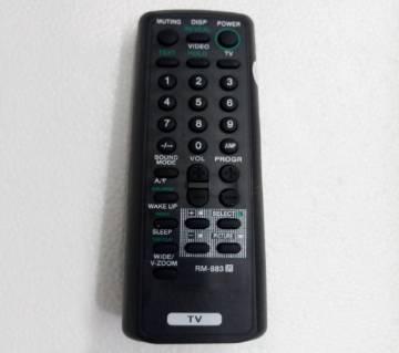 Sony টিভি রিমোট কন্ট্রোল সিস্টেম