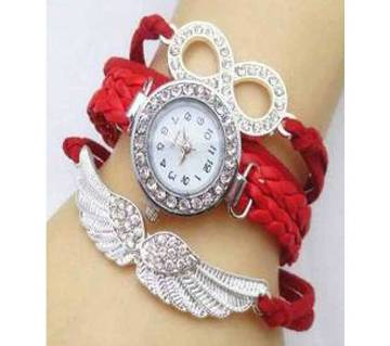 Artificial Leather Analog Watch For Women